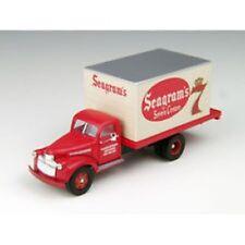 HO Scale '41/46 Chevrolet Delivery Truck - Seagram's 7 - Mini Metals #30362