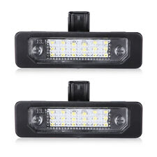 2pcs Super White LED Rear Number License Plate Light for 2010-2014 Ford Mustang