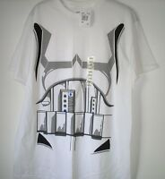 Men's T-Shirt,Star Wars,Size L,White,Short Sleeve,Graphic Tee,Women,100% Cotton