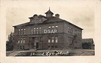C86/ Glenwood Minnesota Mn Real Photo RPPC Postcard 1908 High School