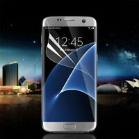 Premium Soft Screen Protective Film Full Coverage For Galaxy S7 Edge G935