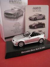 Mercedes-Benz SLK 55 AMG in silber  Kyosho Japan  Maßstab 1:64  OVP
