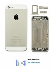 NEW iPhone 5s SILVER Colour Replacement Housing Back Cover Case + FREE TOOL KIT