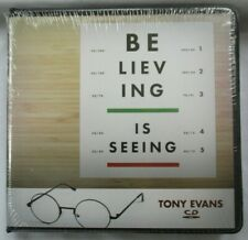"TONY EVANS ""BELIEVING IS SEEING"" - 8-CD-SET - BRAND NEW"