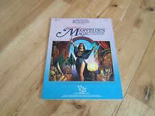 D&D Dungeons and Dragons AC4 el libro de la magia maravilloso (VF +)