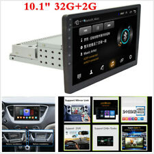 """1 Din 10.1"""" Android 8.1 2G+32G Car Stereo MP5 Player Radio GPS Wifi Mirror Link"""