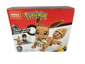 FACTORY SEALED Mega Construx Pokemon Jumbo Eevee Set 830 pcs FREE SHIPPING!