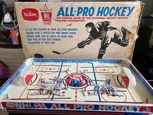 1969 Tudor NHL ALL PRO HOCKEY Table Top Game