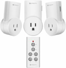 Etekcity Remote Control Outlet Wireless Light Switch for Lights Lamps 3Rx-1Tx