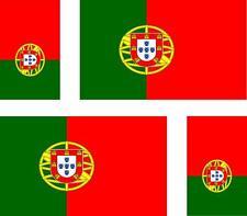 4x Adhesivo adesivi pegatina sticker vinilo bandera vinyl moto coche portugal