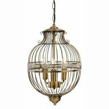 FIRSTLIGHT STANFORD STYLISH 3 LIGHT CEILING PENDANT IN ANTIQUE BRASS 4855