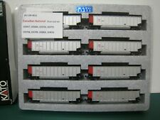 Kato N scale Canadian National CN Bethgon coalporter 8 car coal car runner set
