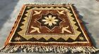 Authentic Hand Knotted Vintage Kurdi Wool Area Rug 2 x 2 FT (2907 KBN)