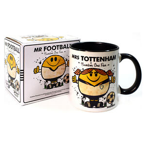 Mrs LILLYWHITES MUG. Gift Boxed Present idea for TOTTENHAM football SPURS Woman