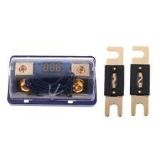 Scatola Portafusibile ANL Con 2 Fusibile Indicatore LED Rosso Universale