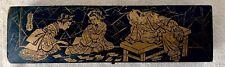 Plumier laqué Napoléon III,décor japonais