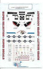 Super Scale F-105D /F /G  Thunderchief, Wild Weasel Decals 1/48 323
