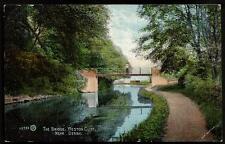 Weston Cliff near Derby. The Canal Bridge # 48733 by Valentine's.