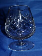 A Brandy Balloon Baileys Glass Snifter Cut Crystal Vintage Unused