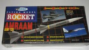 Estes Vintage Flying Model Rocket AMRAAM AIM 120 1997 Beta Series 27 inch SEALED
