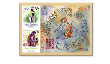 NLZ0401B Monkeys BLOCK MNH NEW ZEALAND 2004