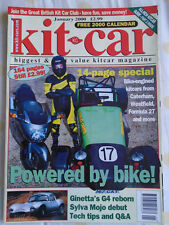 Kit Car Jan 2000 Ginetta G4, Sylva Mojo, Bike engines