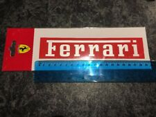 Red Ferrari Sticker