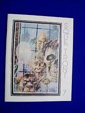 Squa Tront 7 :  Jerry Weist 1977. The EC Fanzine. RGK in Creepy. VFN. 1st .