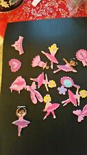 FOAM STICKERS/TOPPERS   - PINK   BALLERINAS X 15    CRAFT CLEAROUT