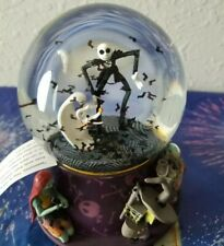 Disney Parks WDW Nightmare Before Christmas Jack & Friends Sculpted Snow Globe