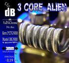 4x Alien Coil Ni80 Handmade