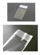 200 4X4 Clear Clear Resealable Recloseable Cello Cellophane Bag Thick 1.6 mil