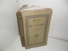 Oeuvres complètes de Voltaire.Théâtre, tome septième (théâtre...) Dupont, 1823.