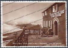 SONDRIO BOLZANO PASSO dello STELVIO 14 RIFUGIO MONTE LIVRIO Cartolina FOTOG 1936