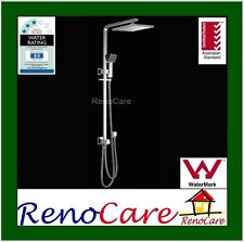 WELS Square MultiFunction Shower Head Rose & Hand Shower Rail Set RC-6311