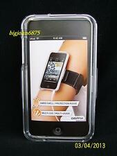 Griffin iClear Case with Belt Clip Armband for iPod Touch 2nd Gen USED