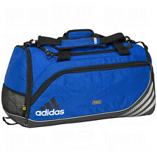 adidas Team Speed Training Duffel Bag GYM Fitness Soccer Travel New Royal  Blue 65ebe783353d2