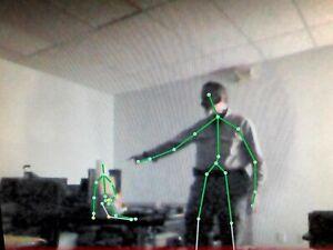 SLS Kinect Ghost Hunt Camera Software Paranormal Skeletal Tracker for Windows