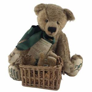 Hermann Germany Sonneberg Museum's Teddy Bear Mohair Articulated LE 069/500