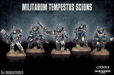 Militarum Tempestus Scions Command Squad Astra Imperial Guard Warhammer 40k NEW