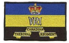 Royal Canadian Regiment Colours Flag Patch