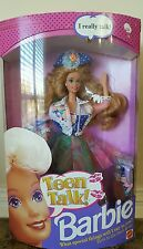 Vintage Teen Talk Barbie - Strawberry Blonde 1991 #5745 NRFB