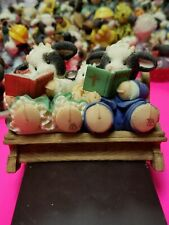 Mary Moo Moos Figurine - Famoo-lies Are For-heifer Church Pew