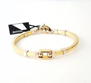 BARAKA BRACELET kardano Man 18 KT Yellow Gold 750 NEW barakà br90481 bracelet