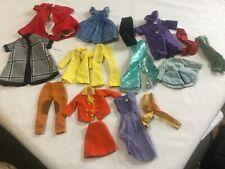 Vintage 60's-70's Barbie & Hong Kong Teen Fashion Doll Barbie Clothes Lot