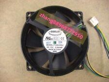 EVERFLOW F129025SU 90/80mm x25mm CPU Round Fan 12V 4Pin 0.38A zhang88