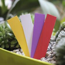 500 Stecketiketten 120 x 25mm Pflanzschilder Etiketten Weiß Pflanzenetiketten