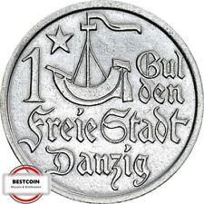 D7  DANZIG  1 Gulden von 1923 in VZ  969251