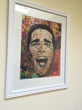 "Alec Monopoly ""American Psycho"" Street Art Print Matte Framed"