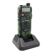 Baofeng Camouflage Dual Band UV-5R VHF/UHF Ham Two Way Radio+3800mAh Battery
